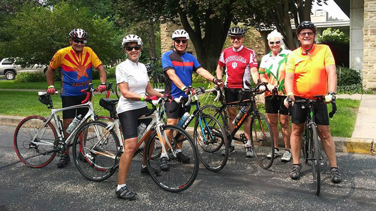Quilt Garden Ride Cyclists